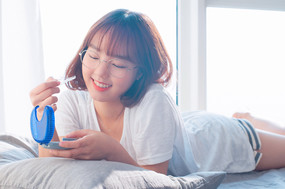 인비절라인(투명교정기)의 소셜광고 촬영