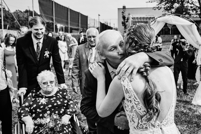 Svatební gratulace nevěstě
