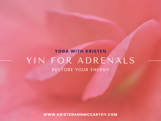Yin Yoga for Adrenals