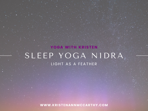 Yoga Nidra for Healing Sleep