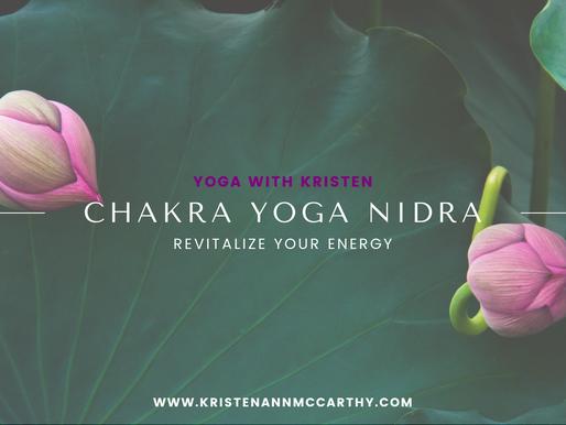 Yoga Nidra Journey Through the Chakras