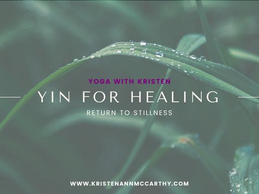 Yin Yoga for Healing