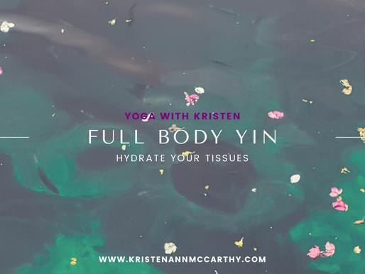 Yin Yoga Full Body Deep Stretch