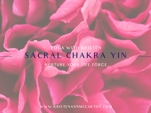 Sacral Chakra Yin Yoga