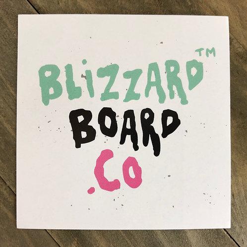 *Blizzard Board Co Team-Logo* Sticker