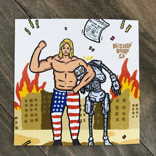 *BLIZZARD MAN* Sticker