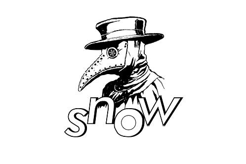 SNOW PD STICKER