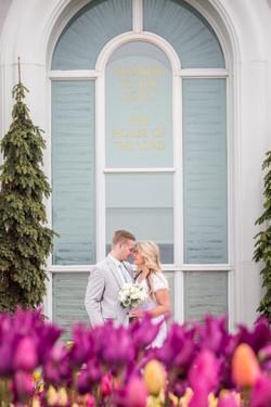 Mount timpanogos Wedding