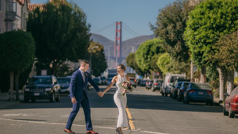 San Francisco Zoom Wedding
