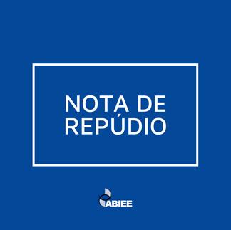 ABIEE- NOTA DE REPÚDIO
