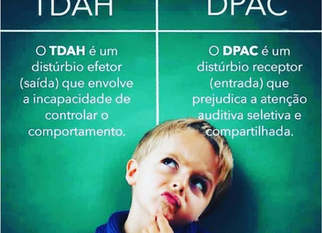 TDAH ou DPAC
