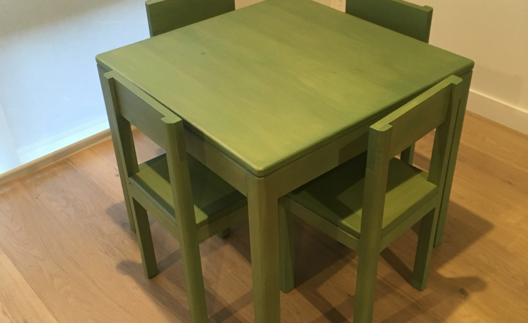 kids table and chairs - milkpaint.jpg