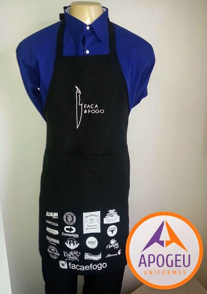 AVENTAL FACA E FOGO - uniforme