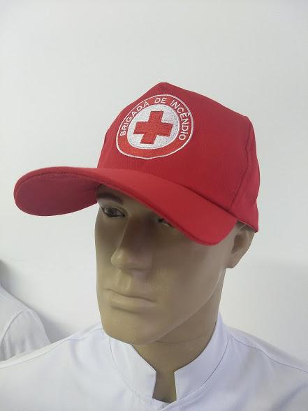 BONÉ BRIGADA DE INCÊNDIO - uniforme