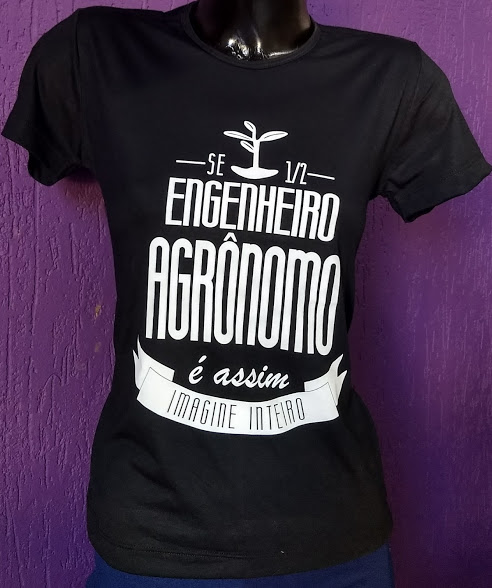 CAMISETA ENG. AGRONOMO - uniforme