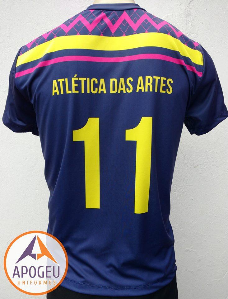 Uniforme Atl. Artes - Marinho costa
