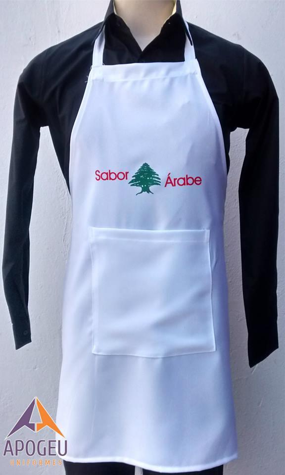 Avental em Oxford - Sabor Árabe