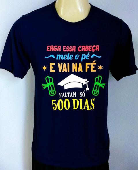 CAMISETA 500 DIAS - uniforme