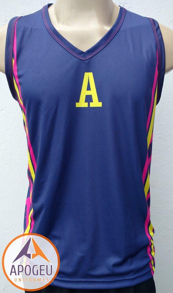 Uniforme Atlética das Artes basquete