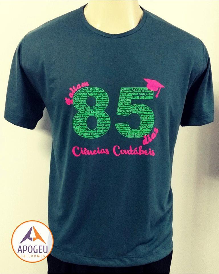 Camiseta Turma de Contábeis - 85dias