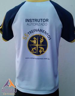 Camiseta SS Treinamentos - costa