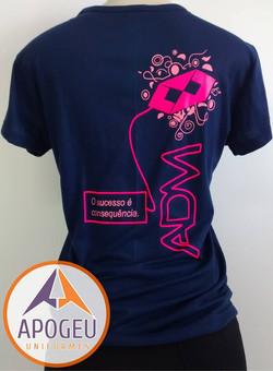 Camiseta 100 dias Adm. Costa