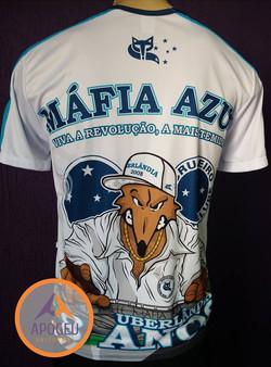 Uniforme Mafia Azul - costa