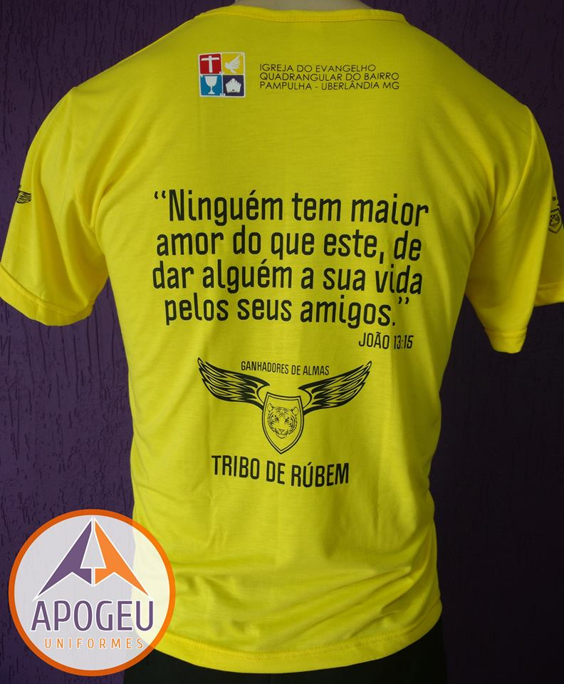 Camiseta Igreja Quadrangular
