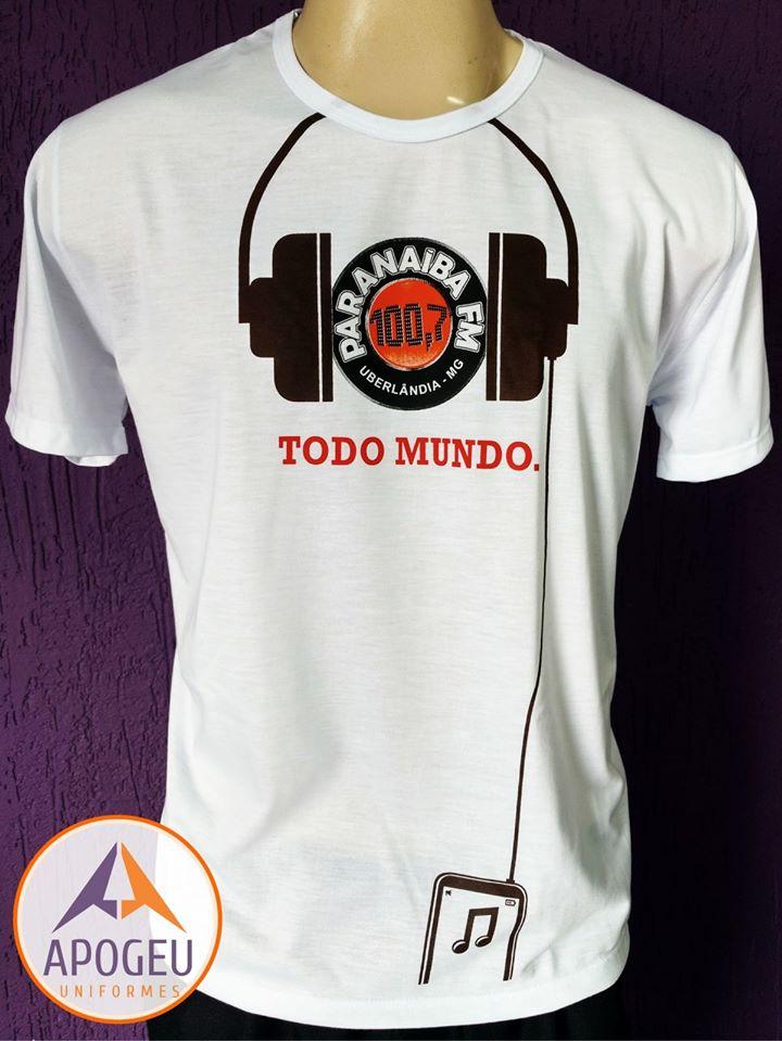 Camiseta Paranaíba fm