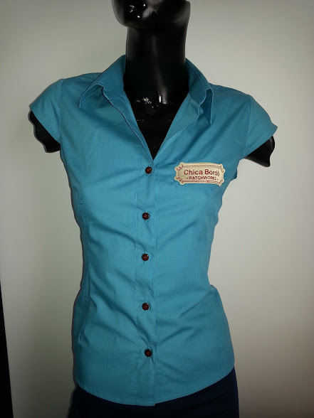 CAMISA CHICA BORDO - uniforme