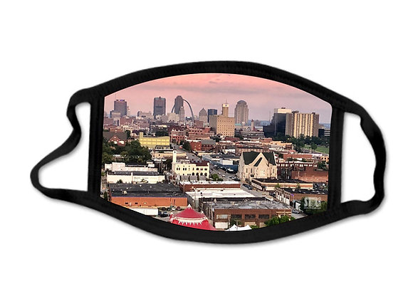 STL Skyline - Face Mask