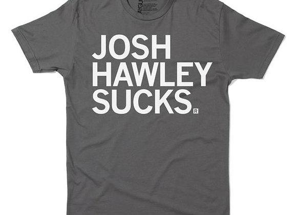 Josh Hawley Sucks Tee by Raygun