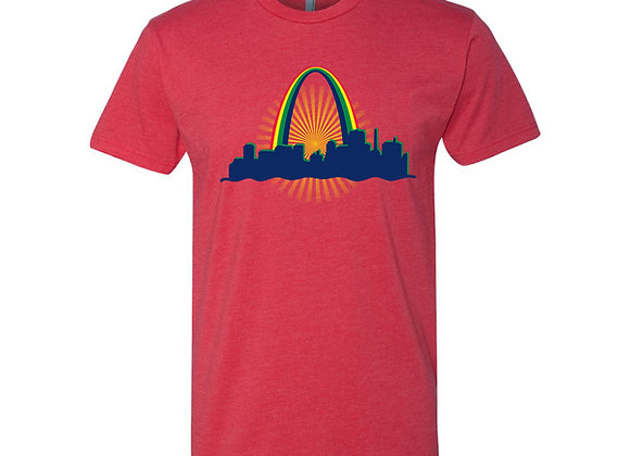 St. Louis Rainbow Arch Tee