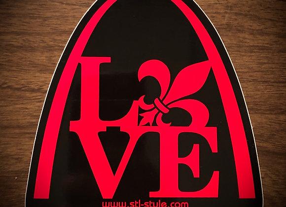 Fleur de Love Sticker