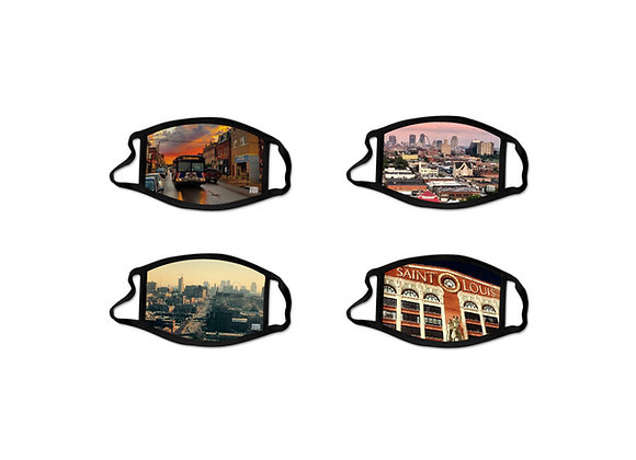 Combo Pack Face Masks - Urban Scenes