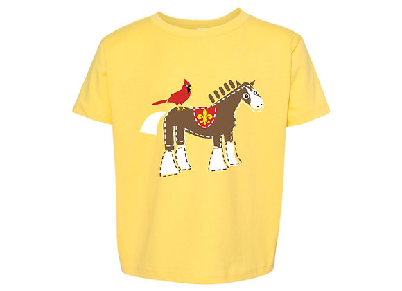 Cardinal and Clydesdale Youth Tee