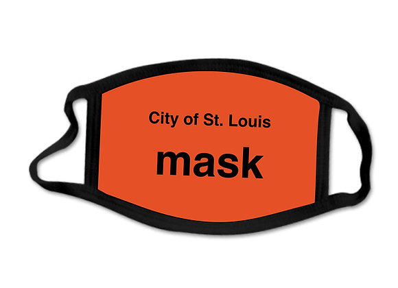 City of St. Louis Mask - Face Mask