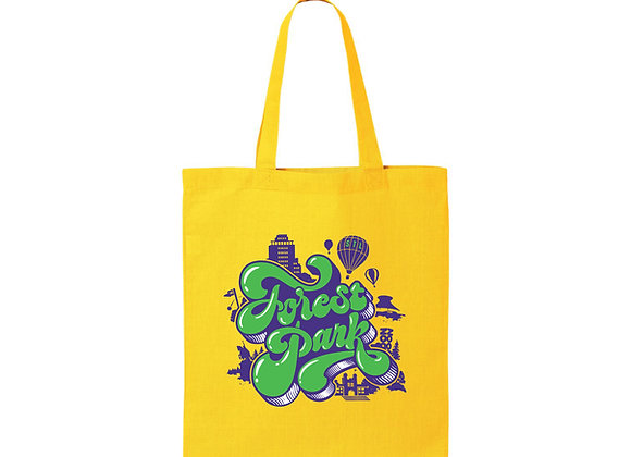 Forest Park Puff Tote