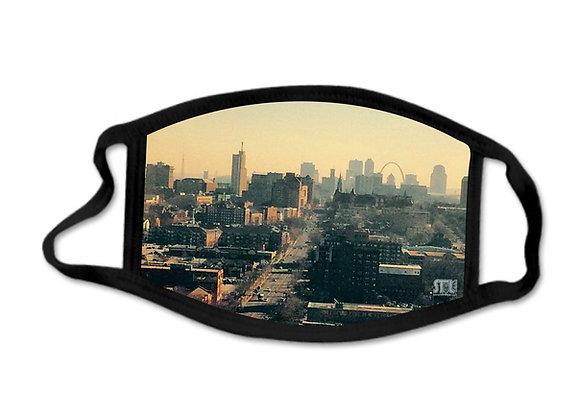 STL Cityscape - Face Mask