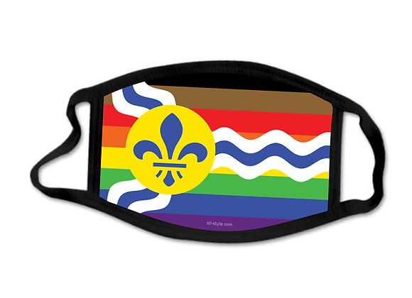 STL Black Pride - Face Mask