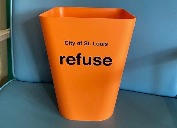 City of St. Louis Refuse Wastebasket