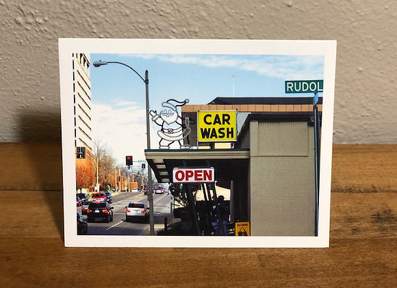 Holiday Card (Santa Car Wash)
