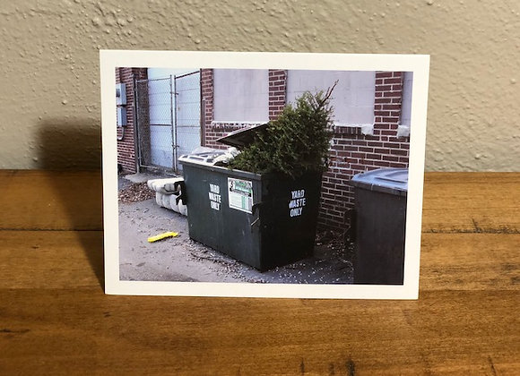 Holiday Card (Dumpster Tree)