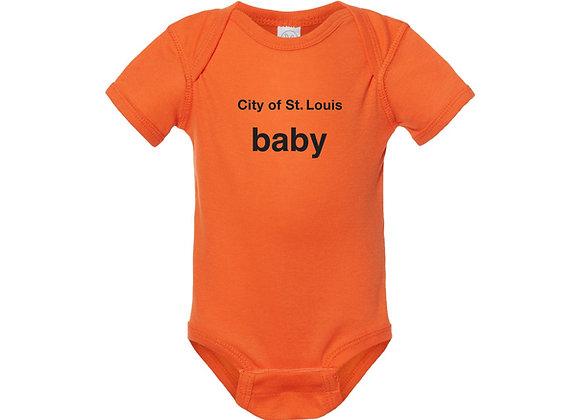 City of St. Louis Baby Onesie