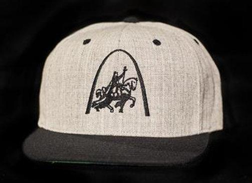 King Louis/Arch Flatbill Snapback Cap
