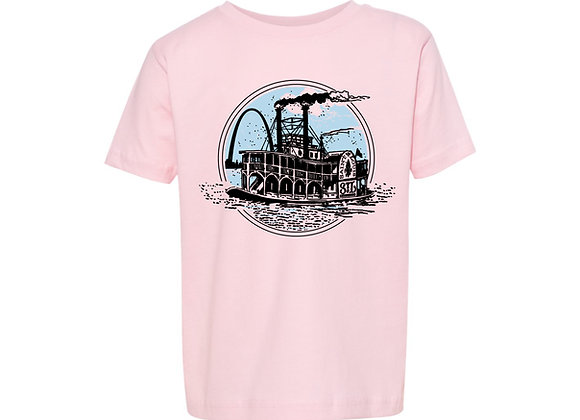 Rollin' Riverboat Youth Tee