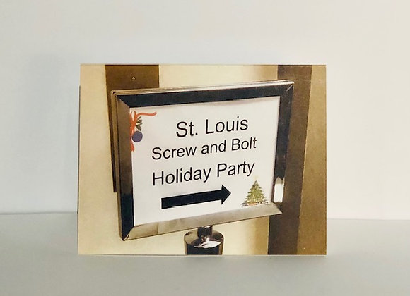 Holiday Card (Screw and Bolt)