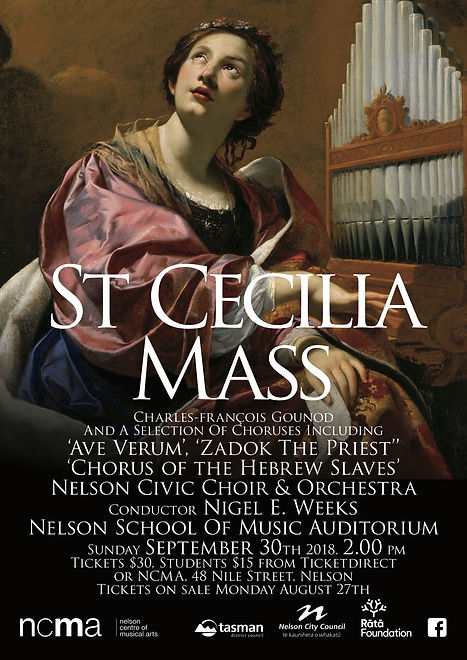 NCC St Cecilia Poster image for Facebook