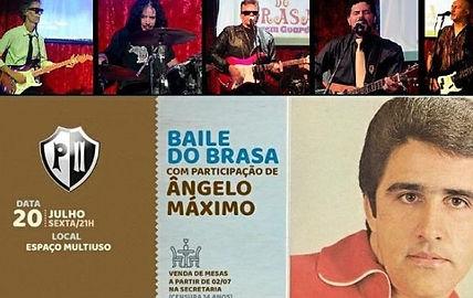 Baile do Brasa com participação  Angelo Máxima