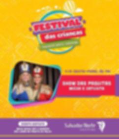 Festival das Crianças com as Paquitas - Salvador Norte Shopping
